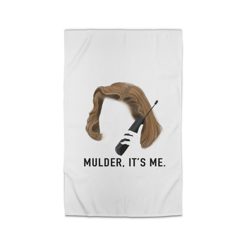 Mulder, It's Me. Home Rug by Jessika Savage Artist Shop
