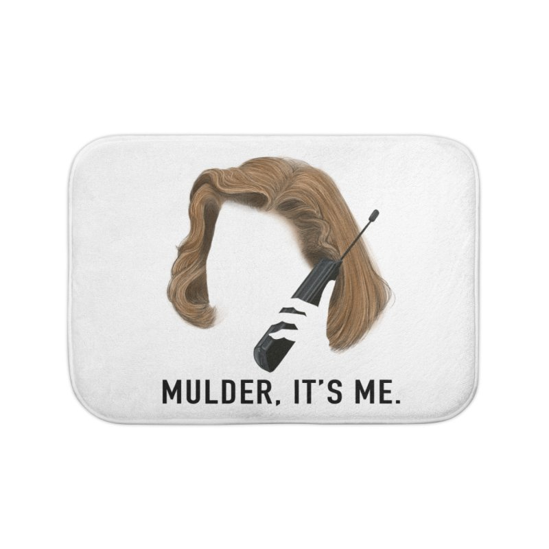 Mulder, It's Me. Home Bath Mat by Jessika Savage Artist Shop