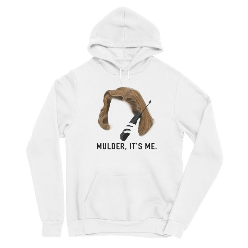 Mulder, It's Me. Men's Pullover Hoody by Jessika Savage Artist Shop