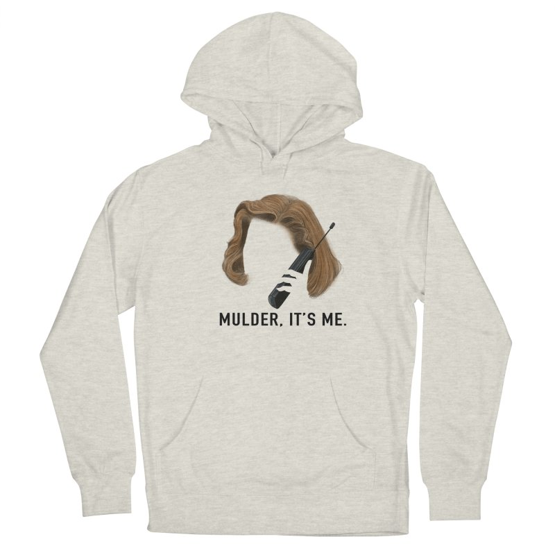Mulder, It's Me. Men's French Terry Pullover Hoody by Jessika Savage Artist Shop
