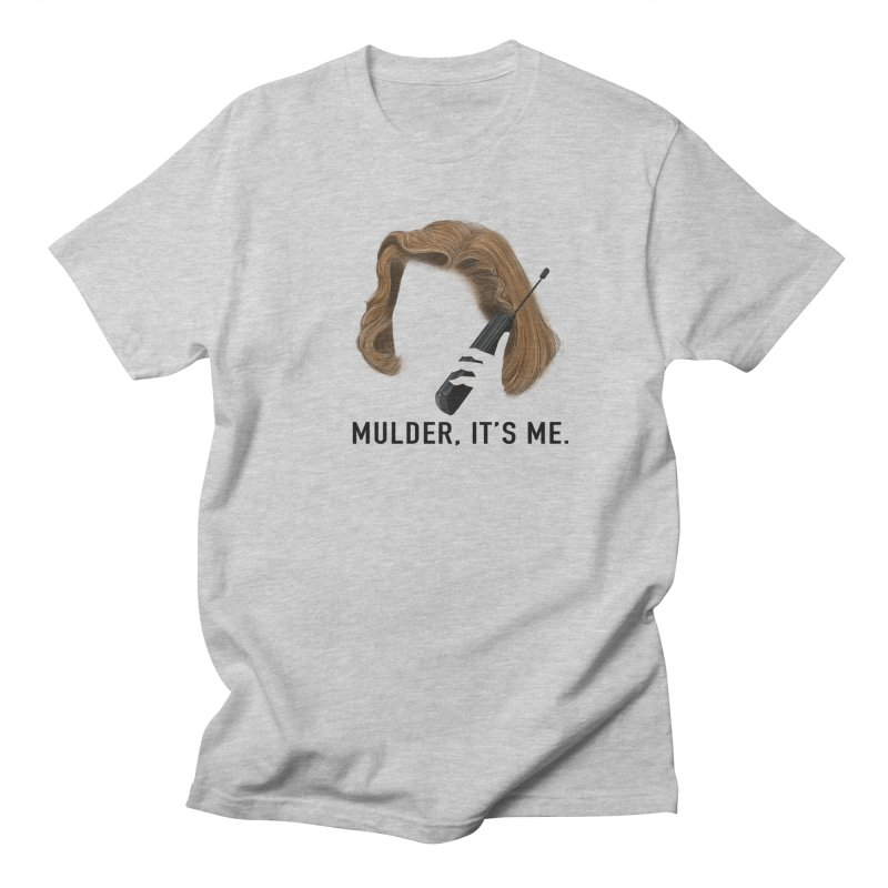Mulder, It's Me. Men's Regular T-Shirt by Jessika Savage Artist Shop