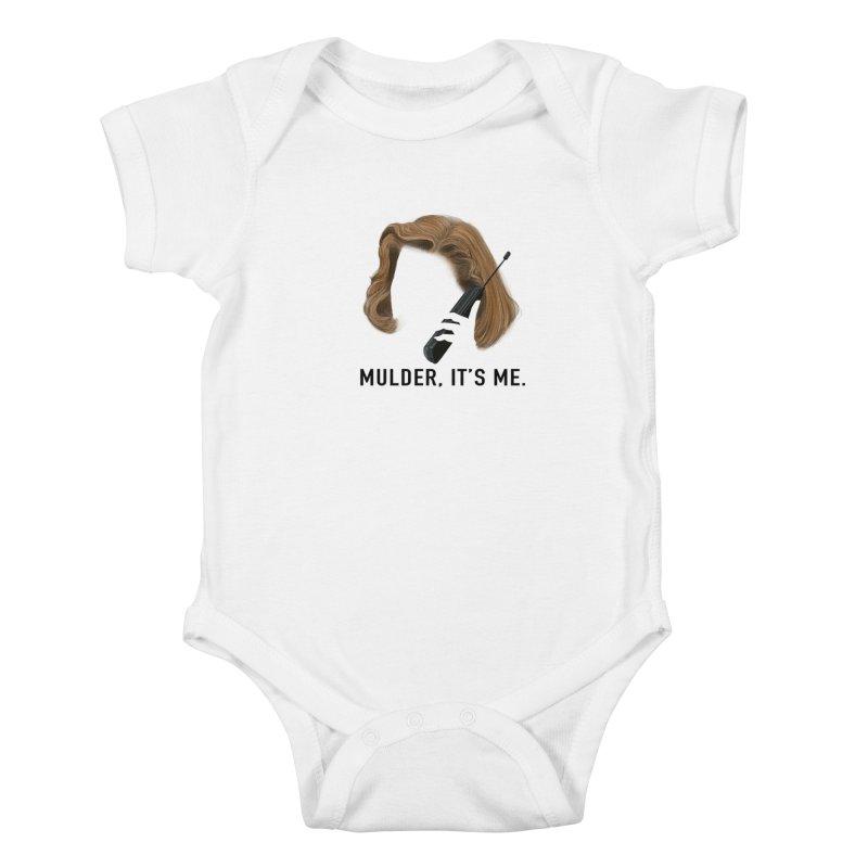 Mulder, It's Me. Kids Baby Bodysuit by Jessika Savage Artist Shop
