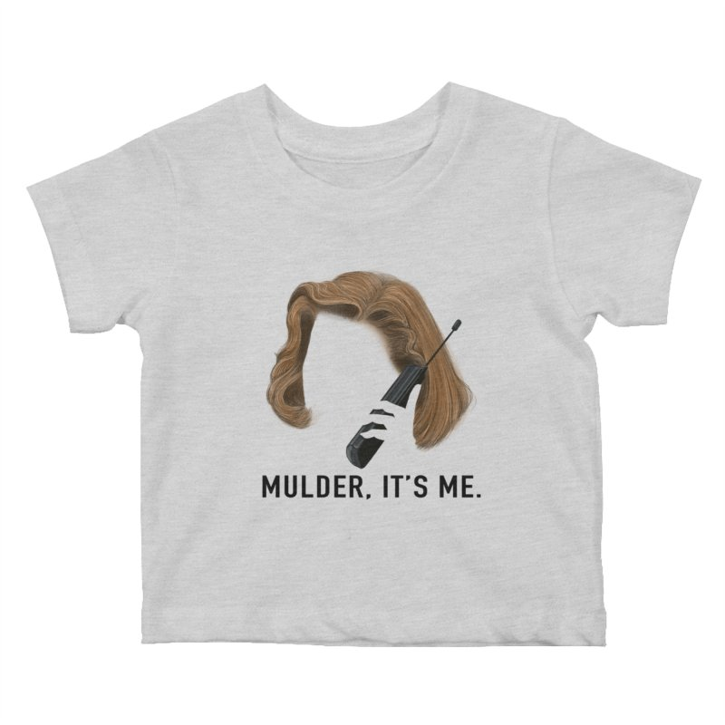 Mulder, It's Me. Kids Baby T-Shirt by Jessika Savage Artist Shop