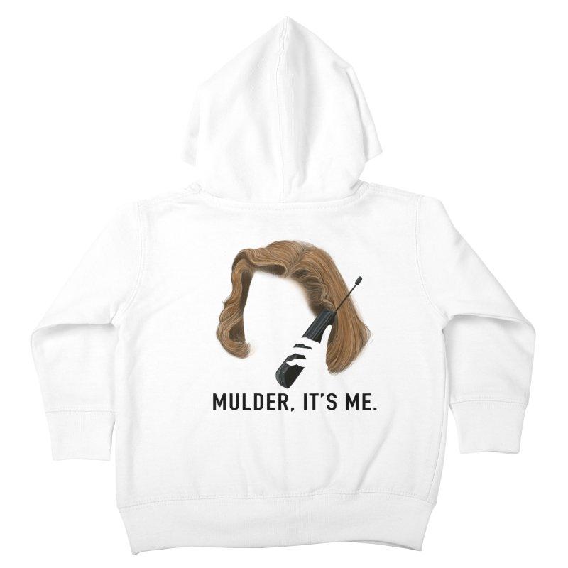 Mulder, It's Me. Kids Toddler Zip-Up Hoody by Jessika Savage Artist Shop