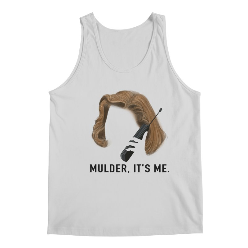 Mulder, It's Me. Men's Regular Tank by Jessika Savage Artist Shop