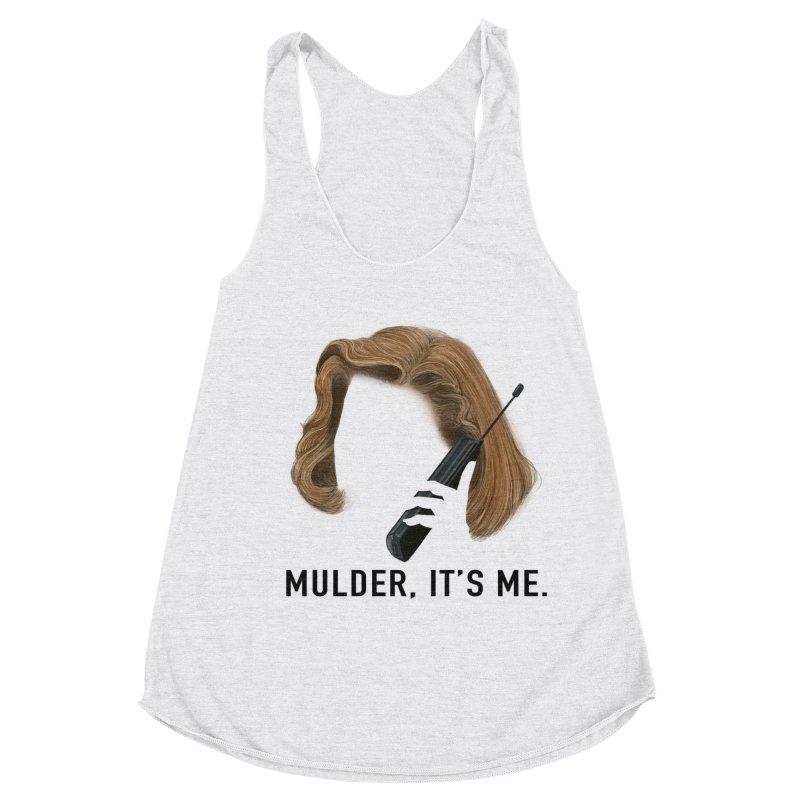 Mulder, It's Me. Women's Racerback Triblend Tank by Jessika Savage Artist Shop