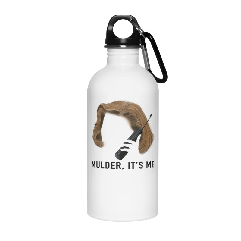 Mulder, It's Me. Accessories Water Bottle by Jessika Savage Artist Shop