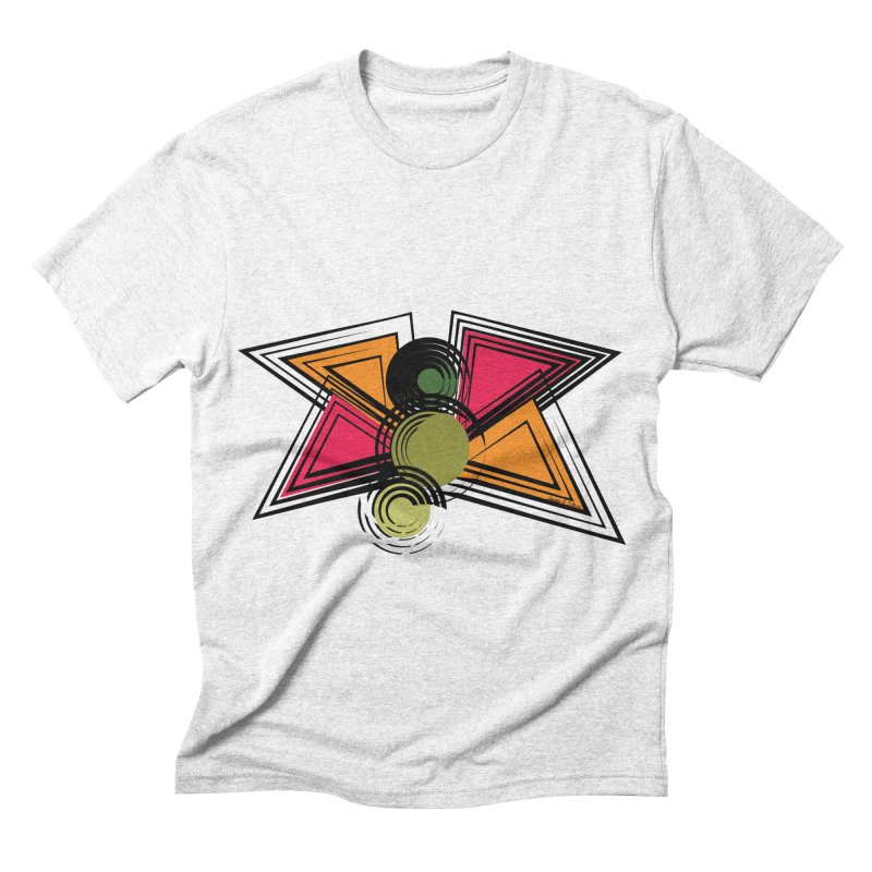 Abstract Butterfly Men's Triblend T-shirt by jessileigh's Artist Shop