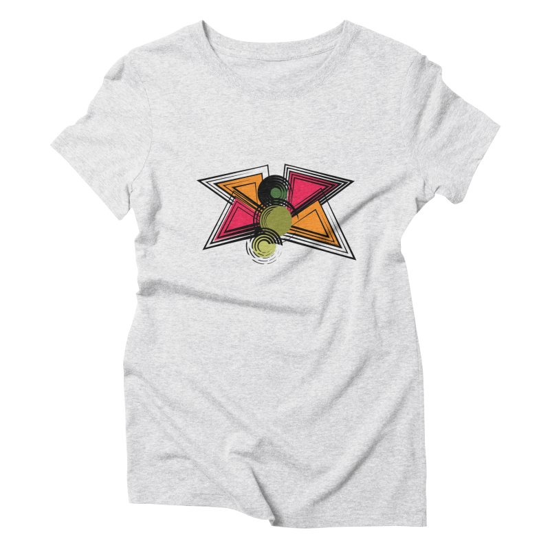 Abstract Butterfly Women's Triblend T-Shirt by jessileigh's Artist Shop