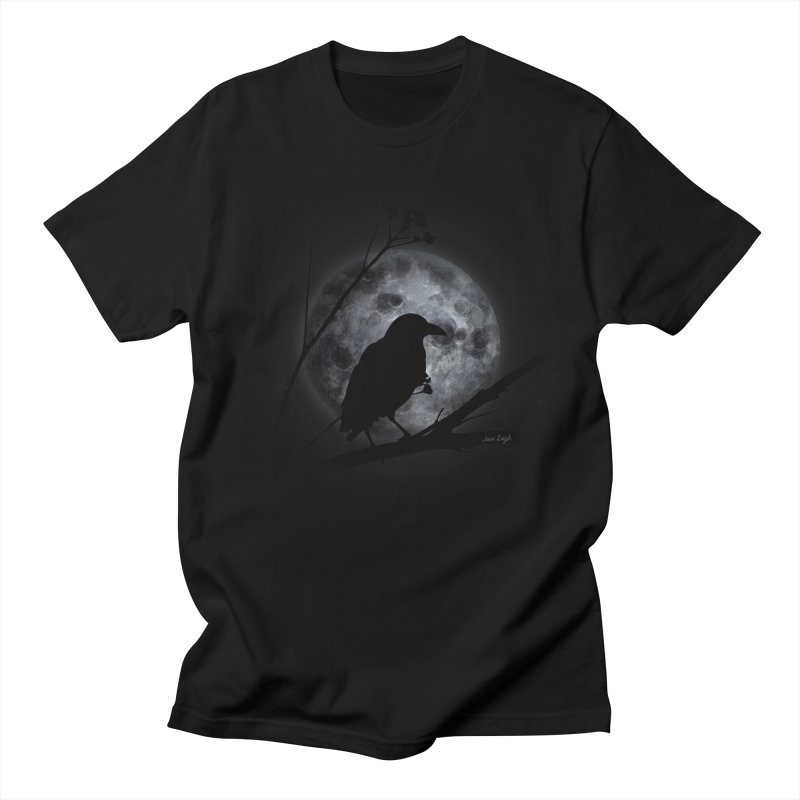 Crow Moon Men's T-shirt by jessileigh's Artist Shop