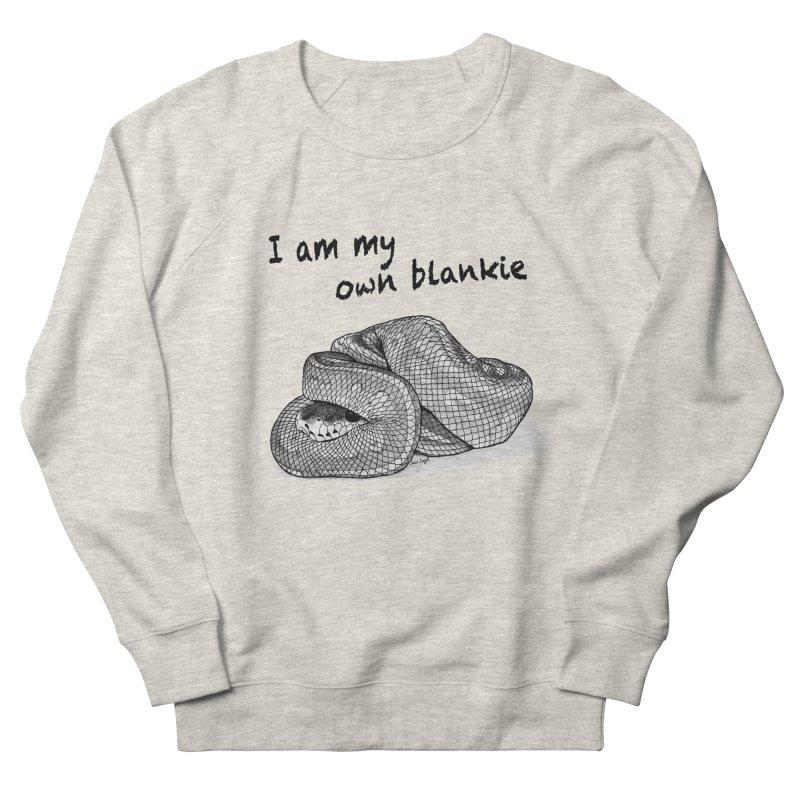I Am My Own Blankie Men's Sweatshirt by jessileigh's Artist Shop