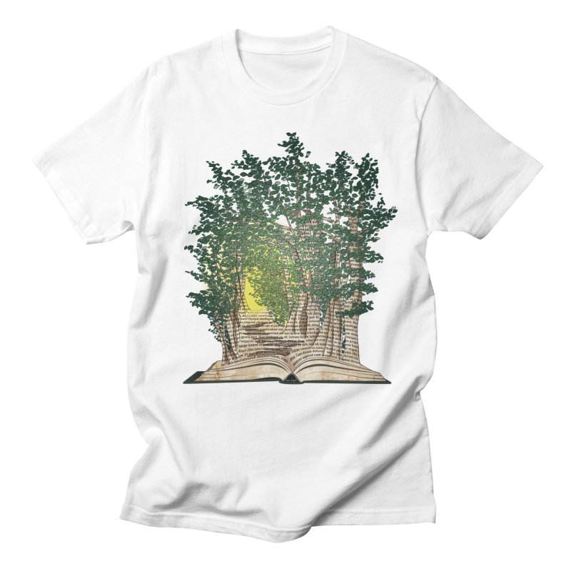 Journey in a Book Men's T-shirt by jessileigh's Artist Shop