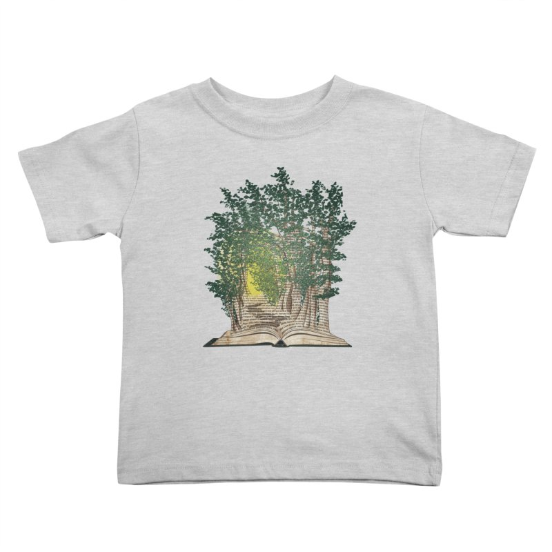 Journey in a Book Kids Toddler T-Shirt by jessileigh's Artist Shop