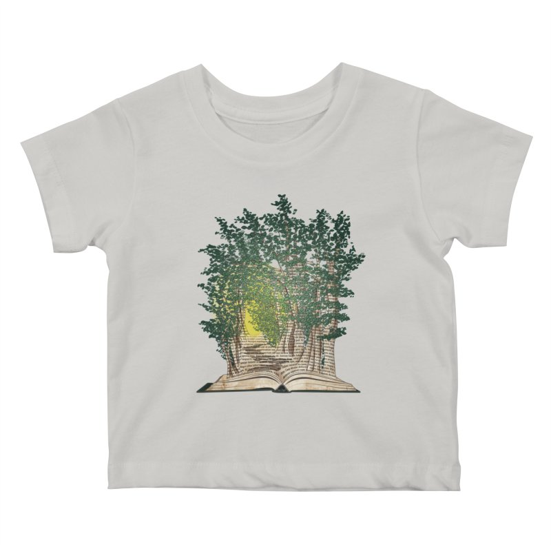 Journey in a Book Kids Baby T-Shirt by jessileigh's Artist Shop