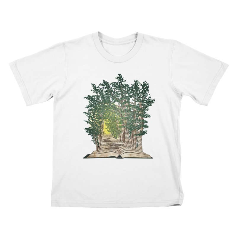 Journey in a Book Kids T-Shirt by jessileigh's Artist Shop