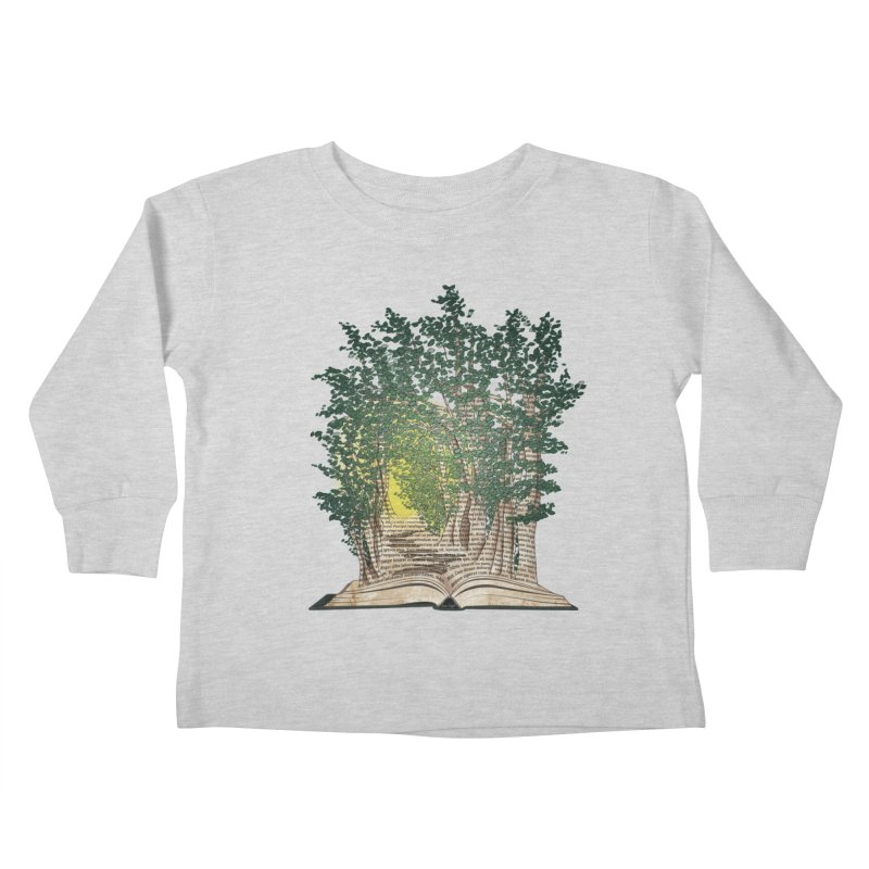 Journey in a Book Kids Toddler Longsleeve T-Shirt by jessileigh's Artist Shop