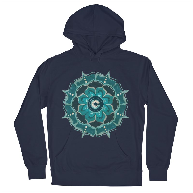 Something Blue Men's Pullover Hoody by jessileigh's Artist Shop