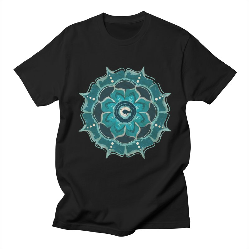 Something Blue Men's T-shirt by jessileigh's Artist Shop