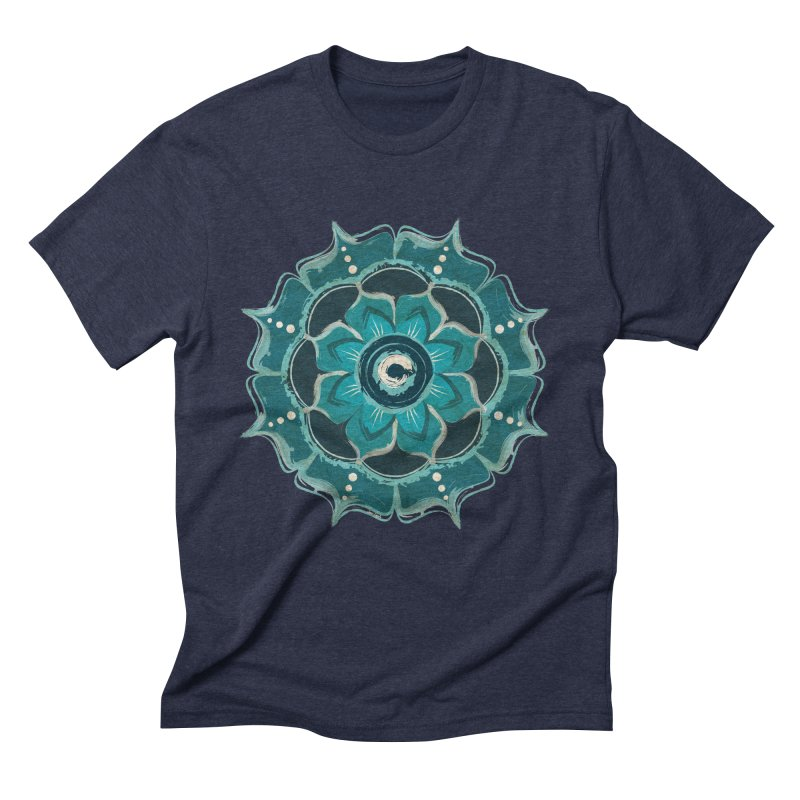 Something Blue Men's Triblend T-Shirt by jessileigh's Artist Shop