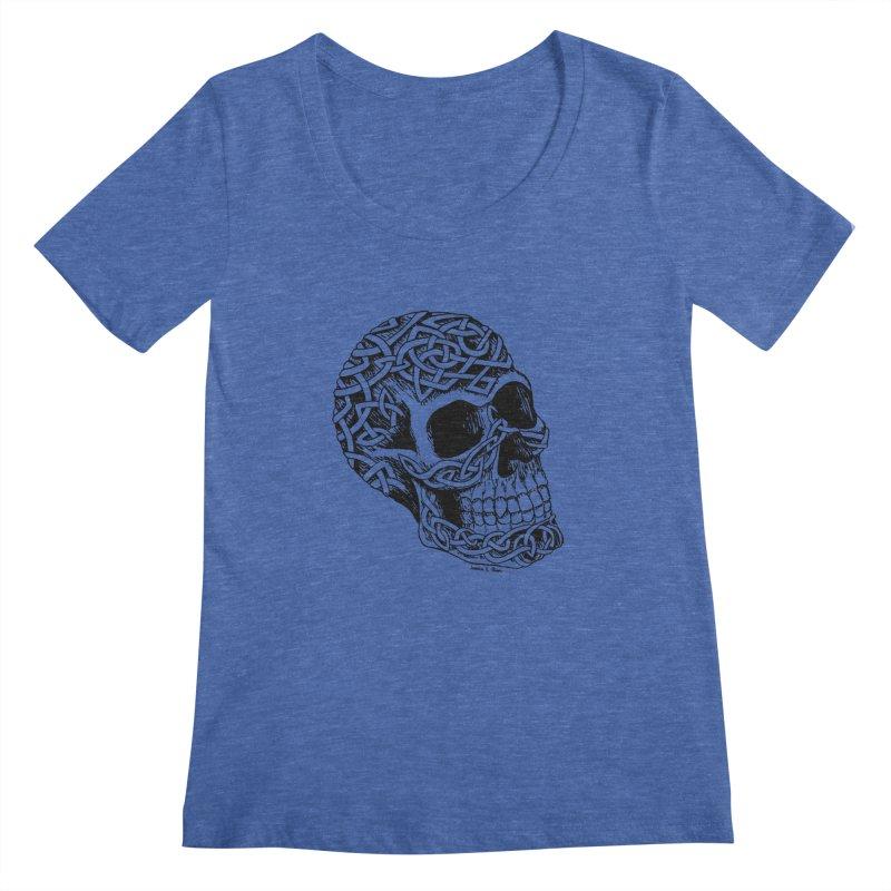 Celtic Skull   by jessileigh's Artist Shop