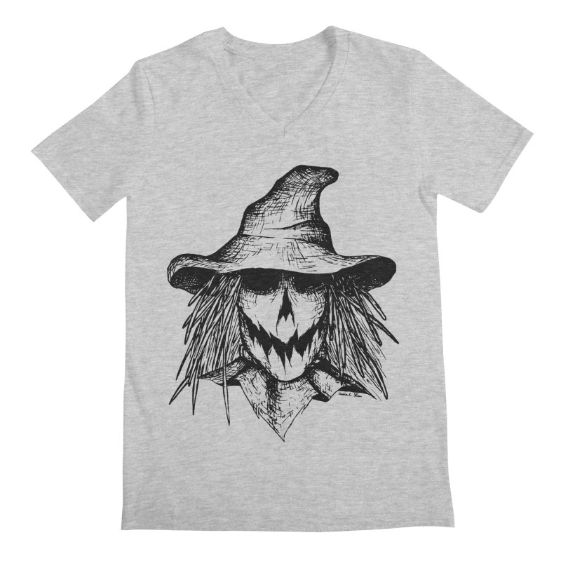 Scarecrow Men's V-Neck by jessileigh's Artist Shop