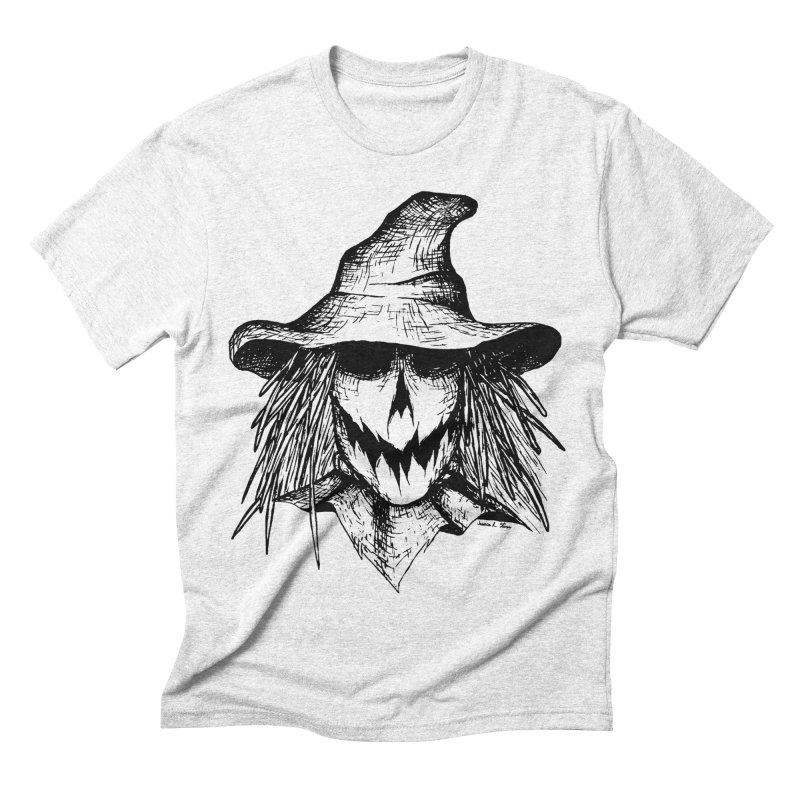 Scarecrow Men's Triblend T-shirt by jessileigh's Artist Shop