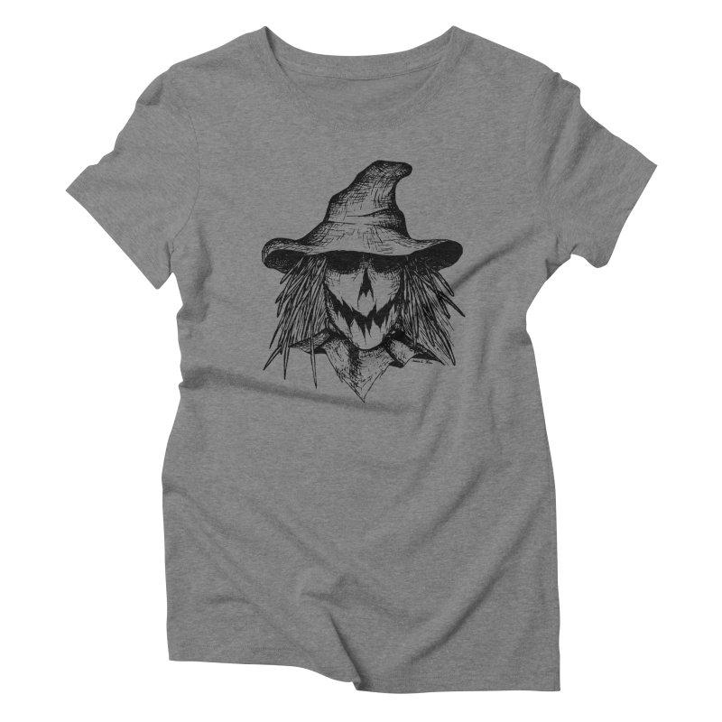 Scarecrow Women's Triblend T-Shirt by jessileigh's Artist Shop