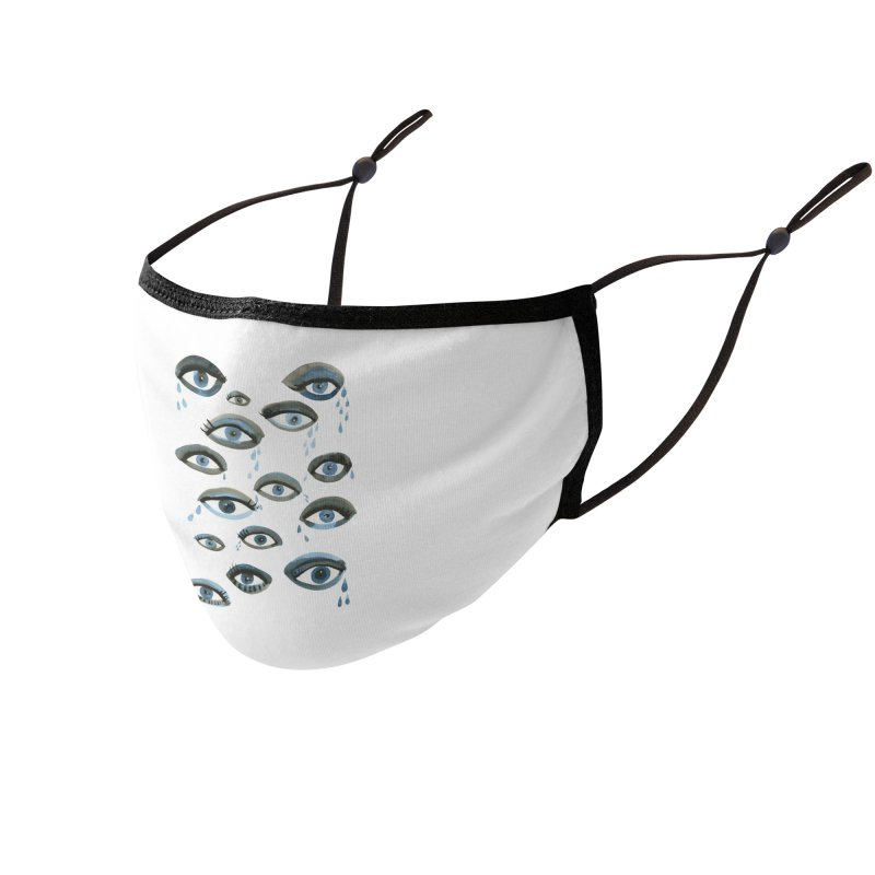 Bette Davis Eyes Accessories Face Mask by Shame Shame, go away by Jess Mac