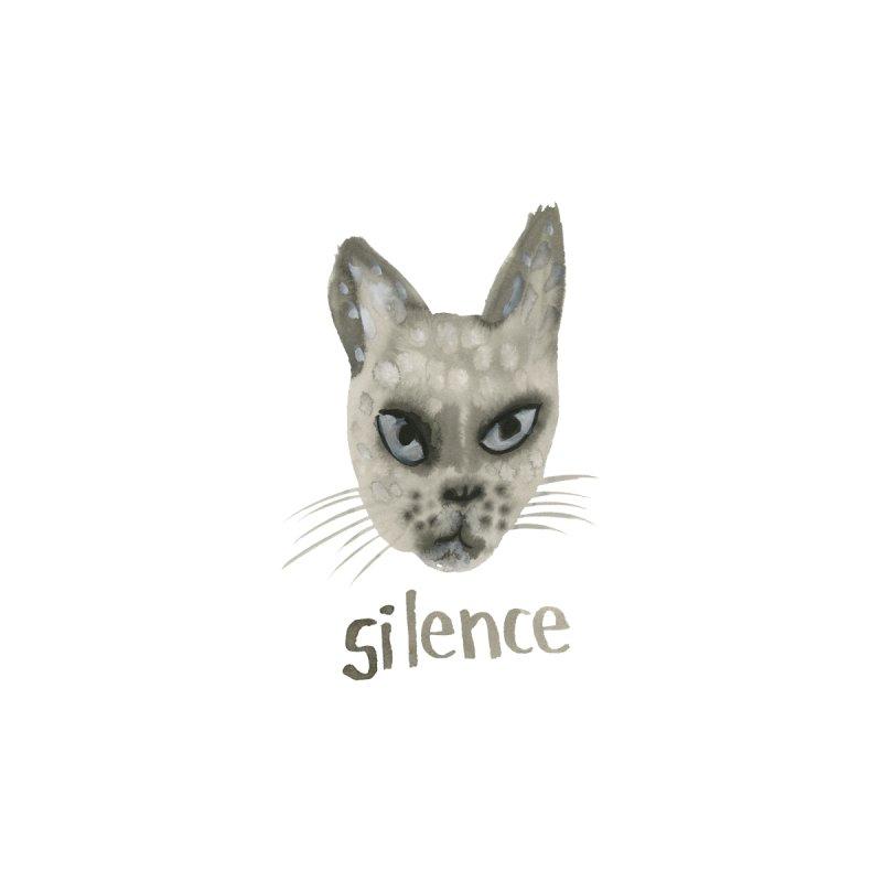 Silence Men's T-Shirt by Shame Shame, go away by Jess Mac
