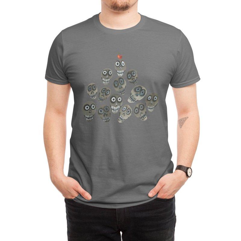 Pile-o-skulls Men's T-Shirt by Shame Shame, go away by Jess Mac