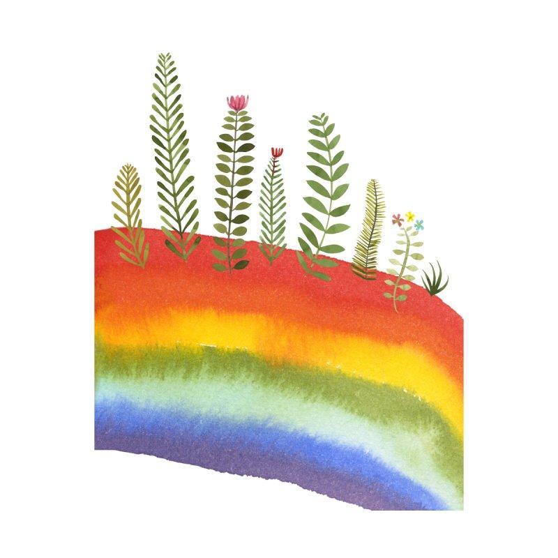 Rainbow Garden Men's T-Shirt by Shame Shame, go away by Jess Mac