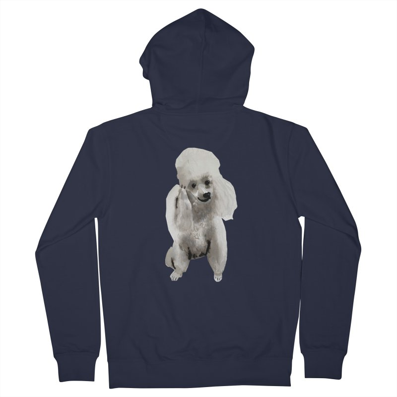 Poodle Me Women's Zip-Up Hoody by Shame Shame, go away by Jess Mac