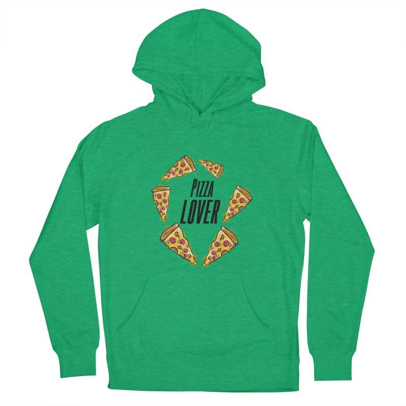 Pizza Lover Men's Pullover Hoody by jessperezes's Artist Shop