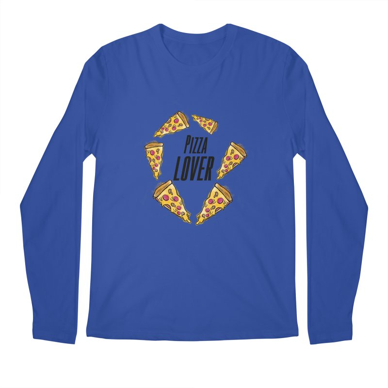 Pizza Lover Men's Longsleeve T-Shirt by jessperezes's Artist Shop