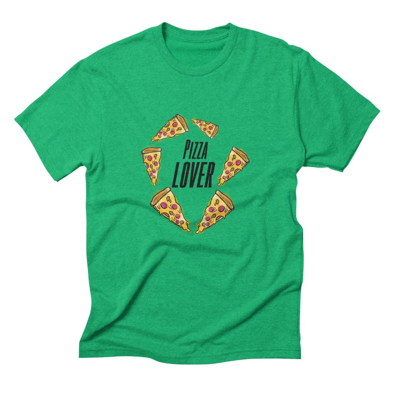 Pizza Lover Men's Triblend T-Shirt by jessperezes's Artist Shop