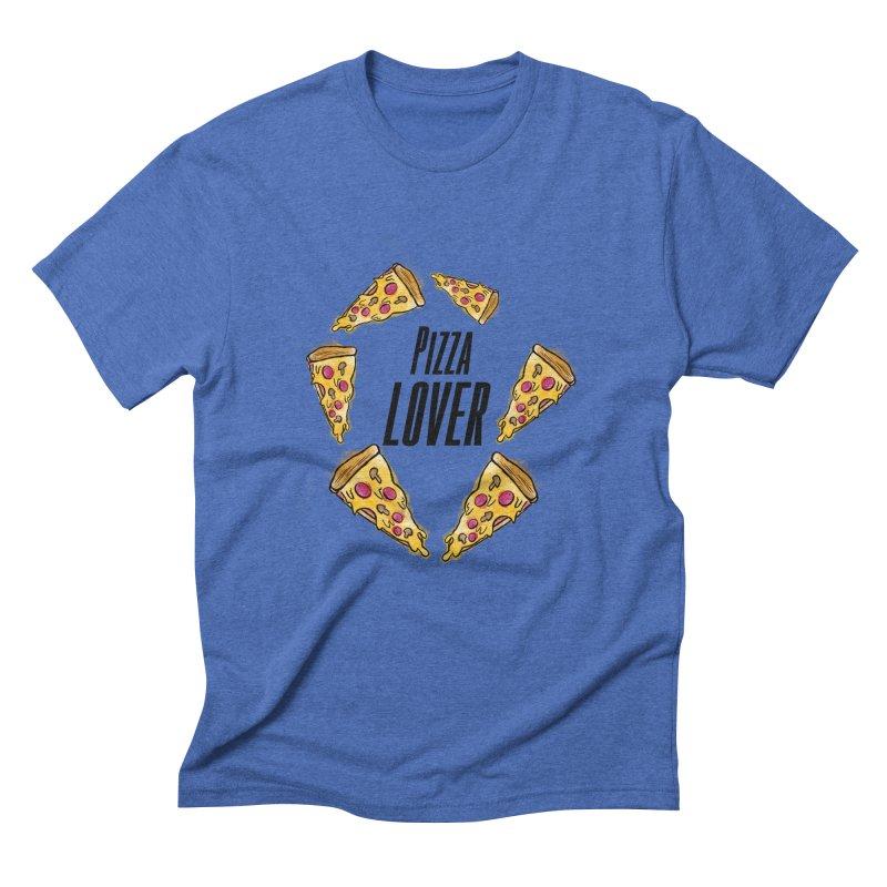 Pizza Lover Men's Triblend T-shirt by jessperezes's Artist Shop