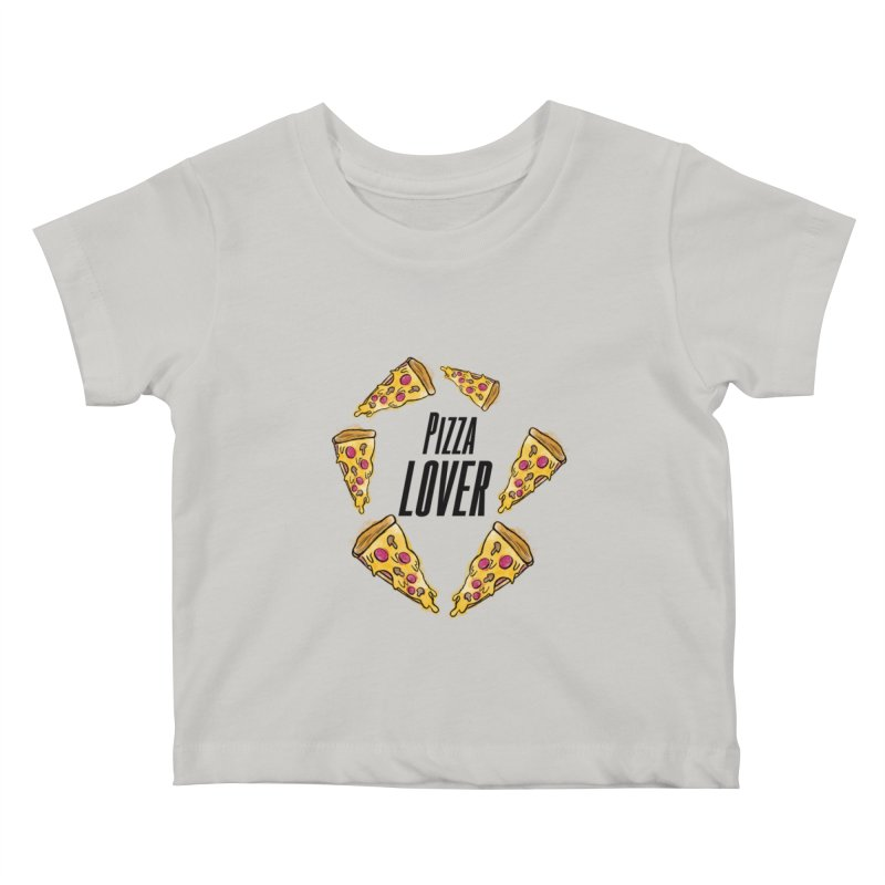 Pizza Lover Kids Baby T-Shirt by jessperezes's Artist Shop