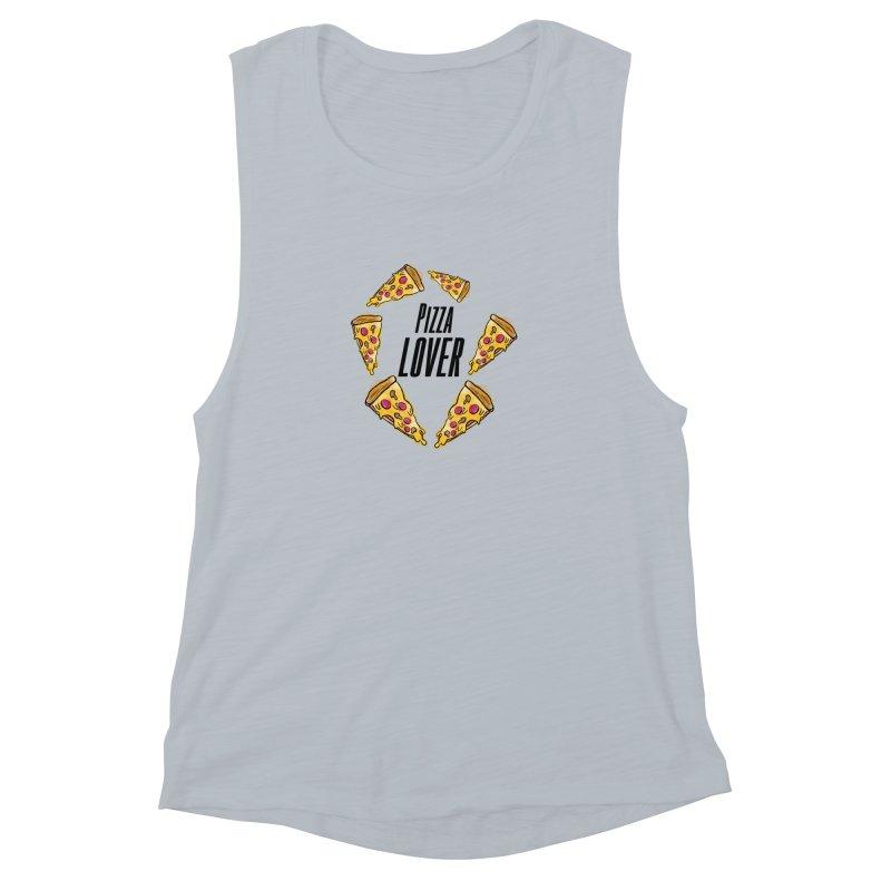 Pizza Lover Women's Muscle Tank by jessperezes's Artist Shop