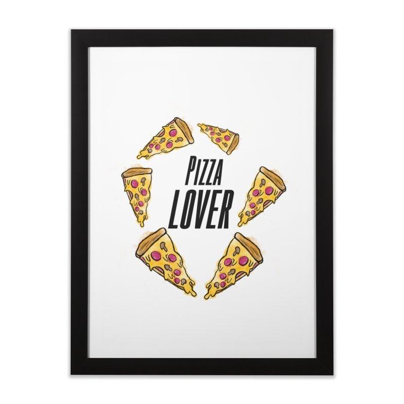 Pizza Lover Home Framed Fine Art Print by jessperezes's Artist Shop