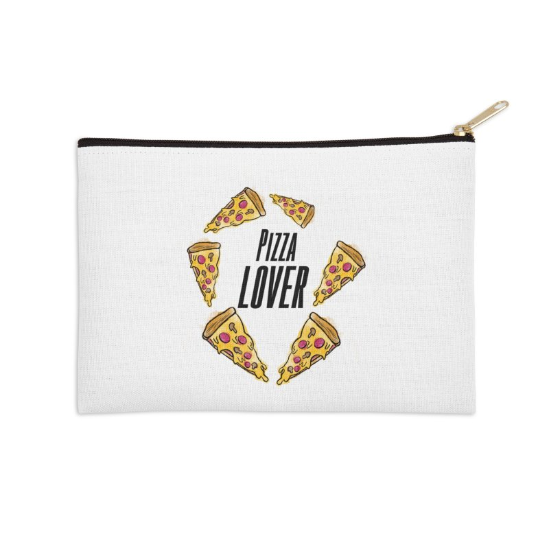 Pizza Lover Accessories Zip Pouch by jessperezes's Artist Shop