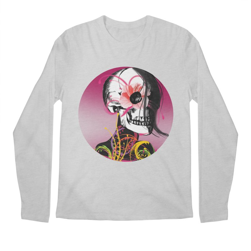 Señorita Muerte Men's Longsleeve T-Shirt by jessperezes's Artist Shop