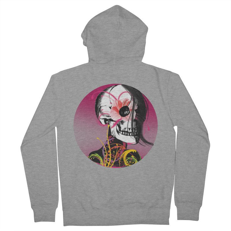 Señorita Muerte Women's Zip-Up Hoody by jessperezes's Artist Shop