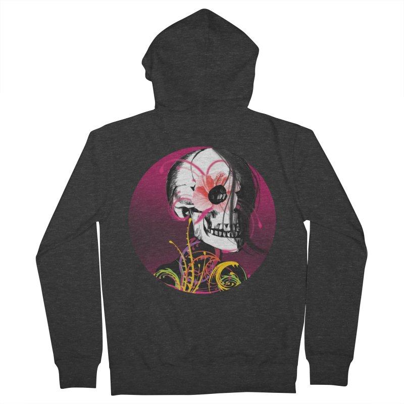 Señorita Muerte Men's Zip-Up Hoody by jessperezes's Artist Shop