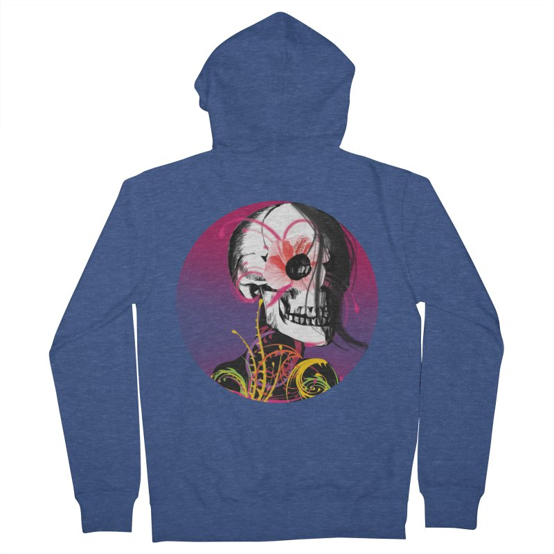 Señorita Muerte Men's Zip-Up Hoody by jessperezes's Artist Shop