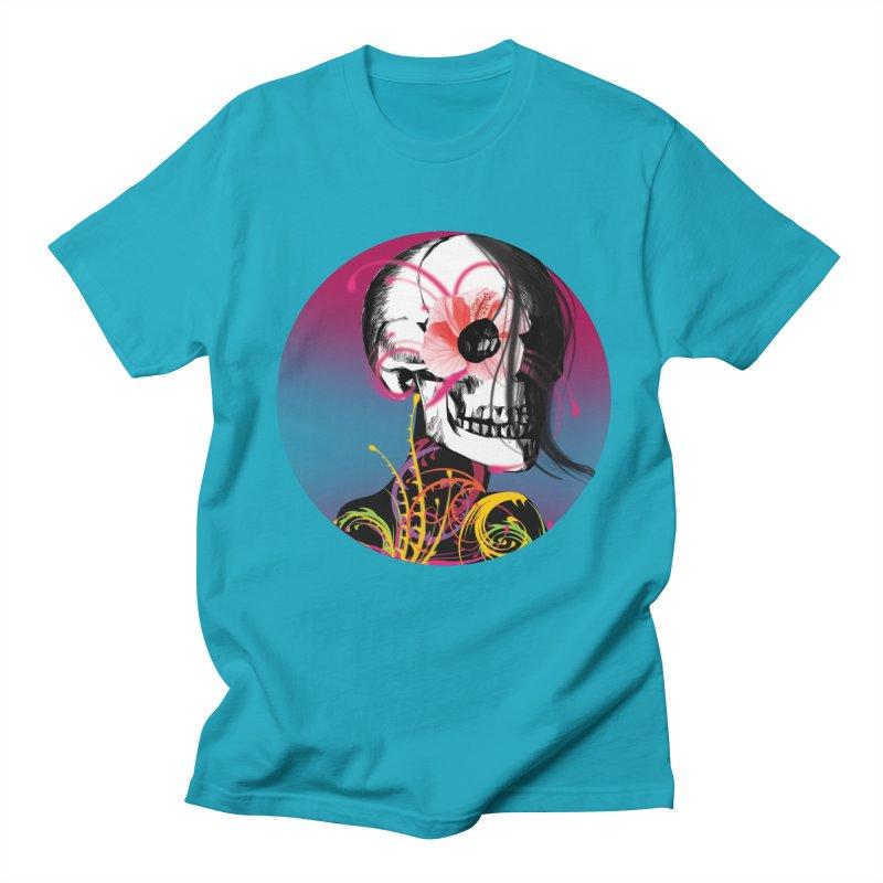 Señorita Muerte Men's T-shirt by jessperezes's Artist Shop