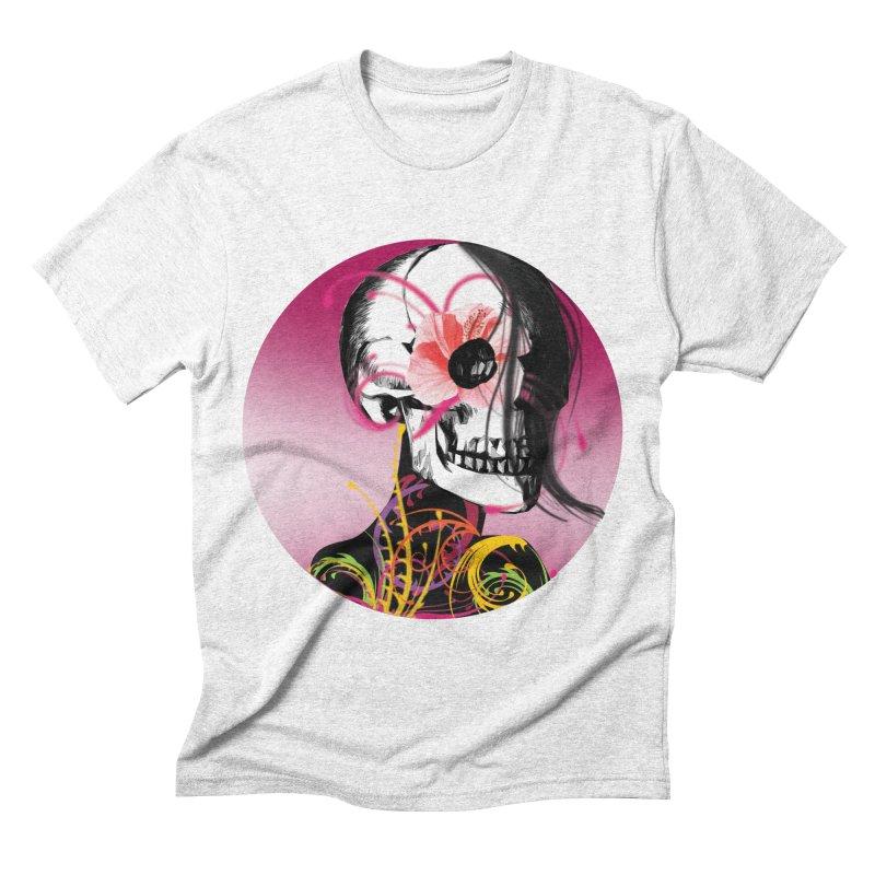 Señorita Muerte Men's Triblend T-shirt by jessperezes's Artist Shop