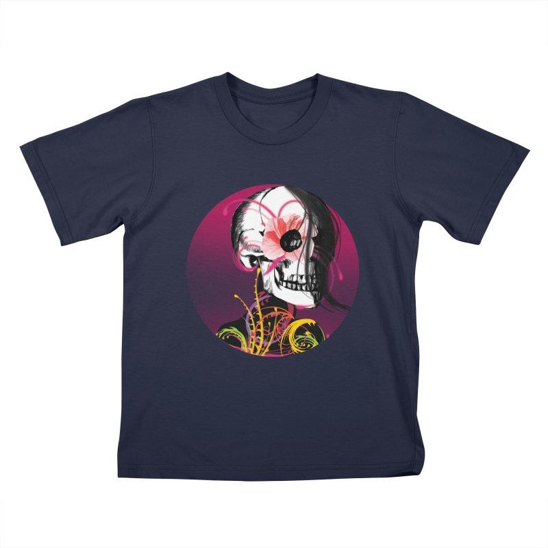 Señorita Muerte Kids T-shirt by jessperezes's Artist Shop