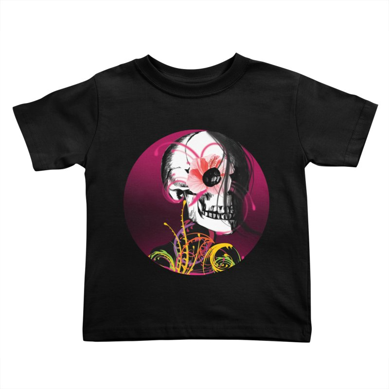 Señorita Muerte Kids Toddler T-Shirt by jessperezes's Artist Shop