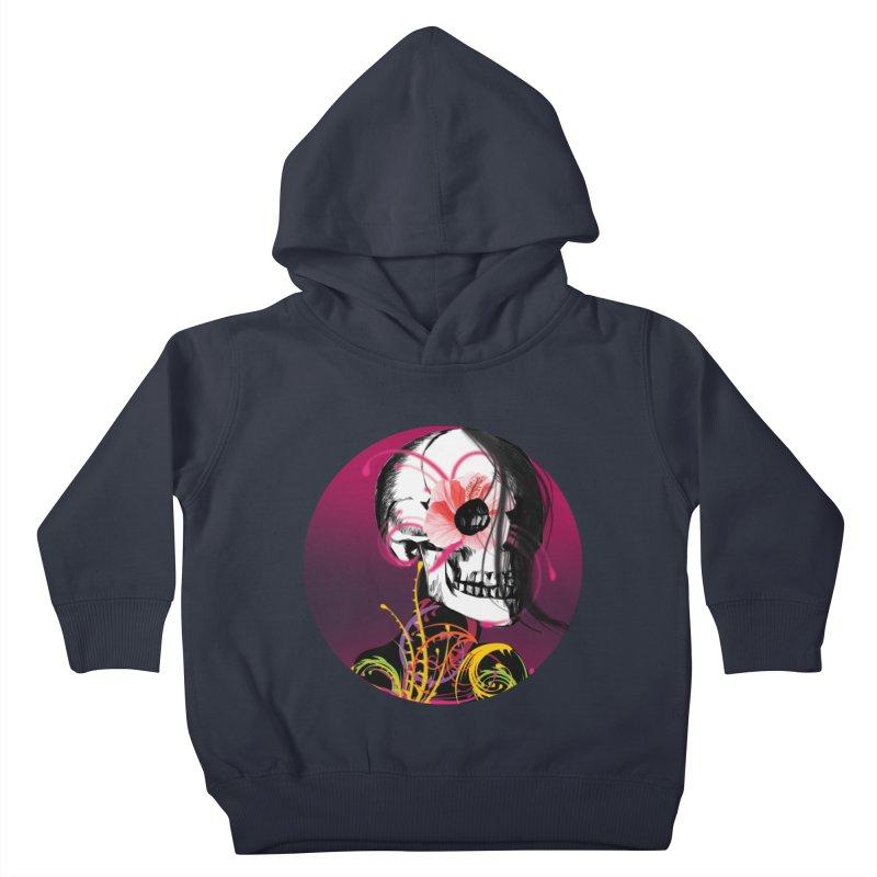 Señorita Muerte Kids Toddler Pullover Hoody by jessperezes's Artist Shop