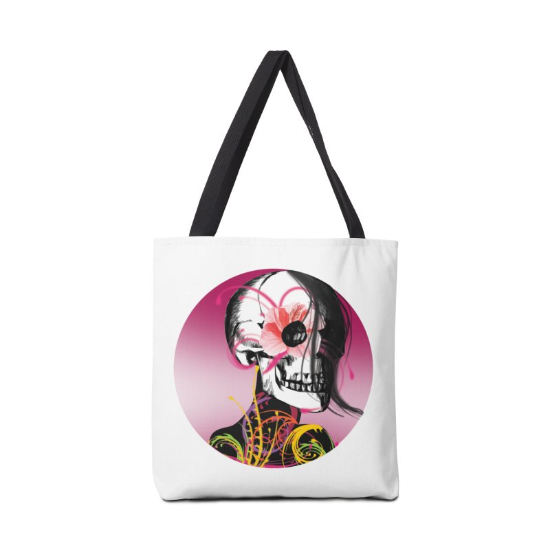 Señorita Muerte Accessories Bag by jessperezes's Artist Shop